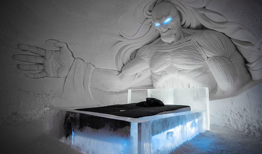 Куда поехать ТОП самых необычных отелей мира Snow Villige