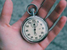 Секундомер, стать успешным поможет простое правило 1 секунды