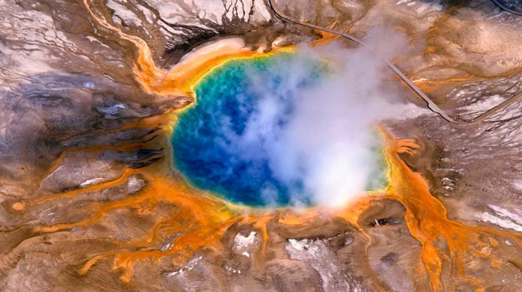 Йеллоустонский вулкан США