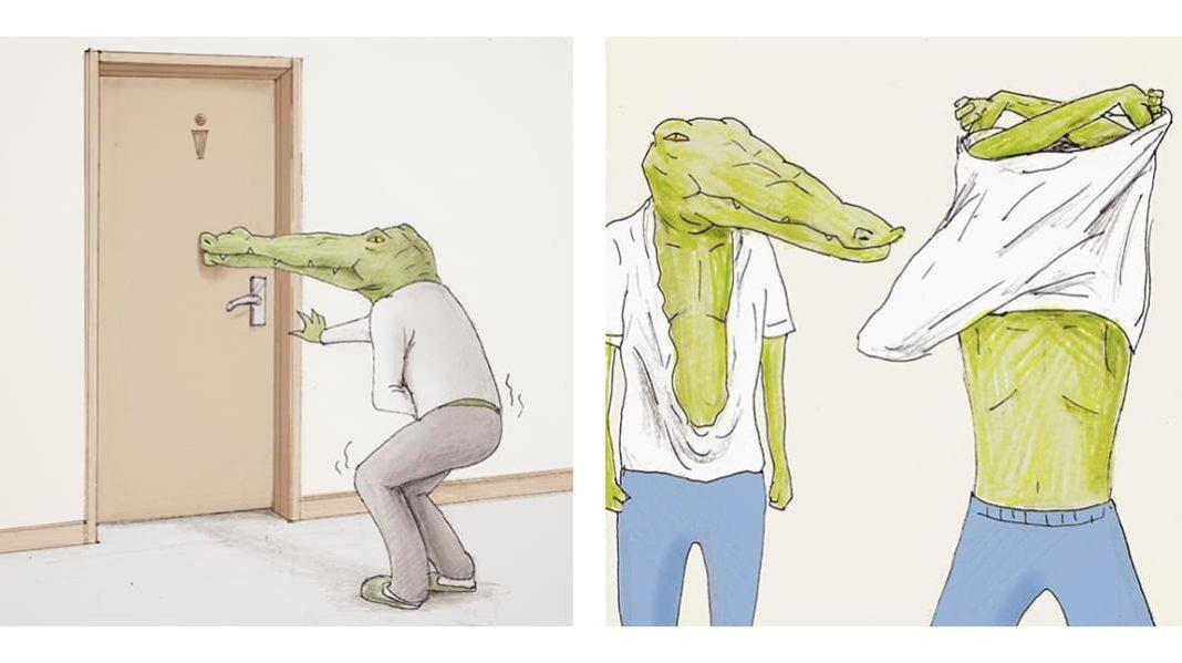 Как тяжело жить в мире людей, если ты крокодил