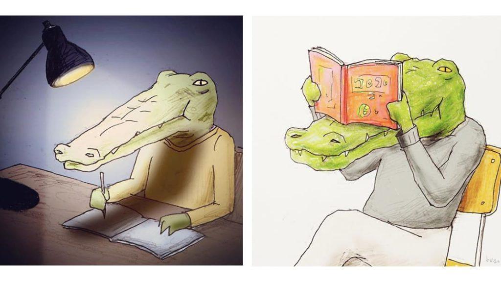 Как тяжело жить в мире людей, если ты крокодил книги