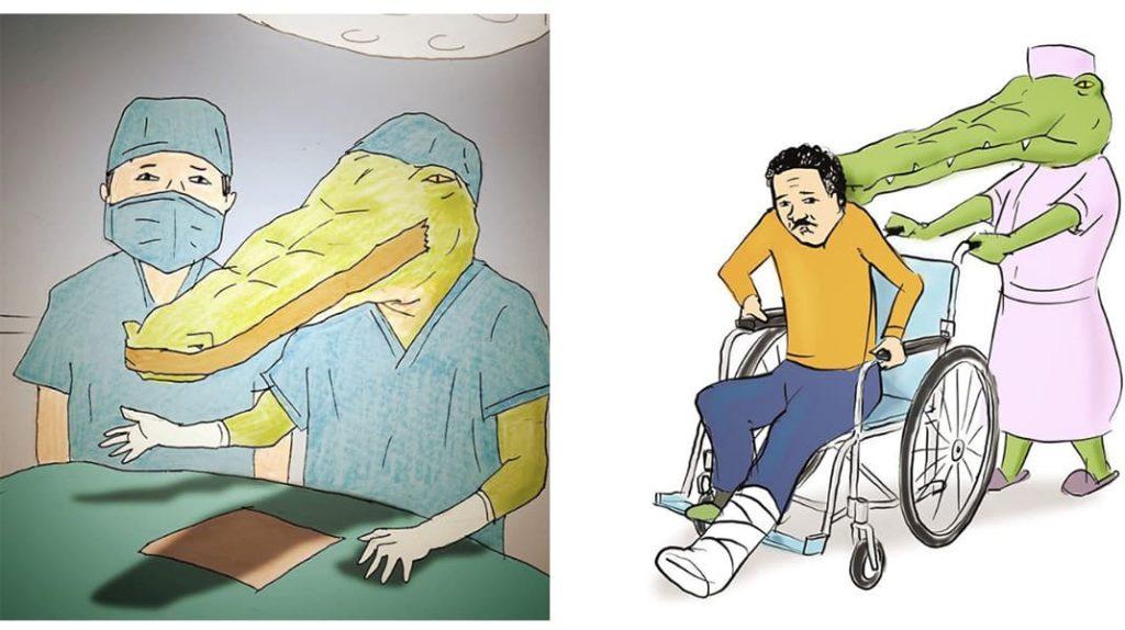 Как тяжело жить в мире людей, если ты крокодил врач