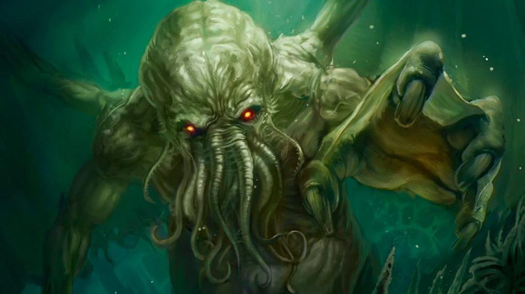 Ктулху мифология чудище из глубин морских