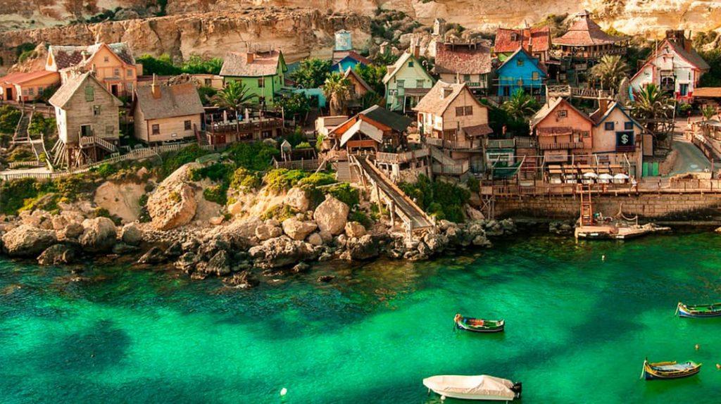 Мальта Деревня Попай отдых, туризм, достопримечательности, еда, транспорт, сувениры
