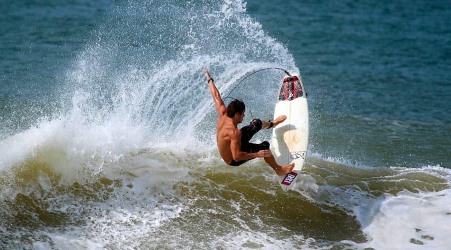 Самые экстремальные виды спорта ТОП-10 серфинг
