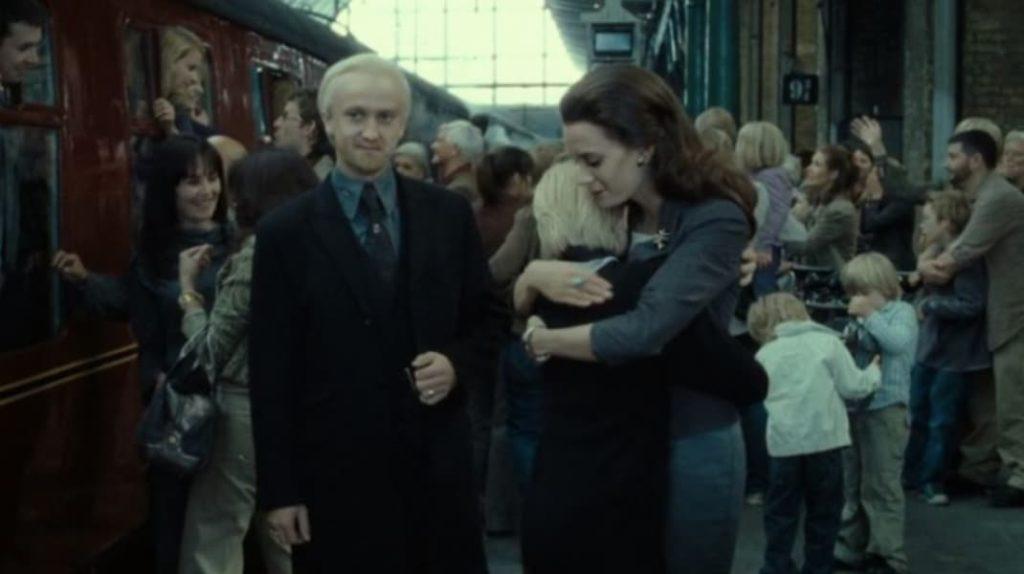 Драко Малфой, финальная сцена, Гарри Поттер
