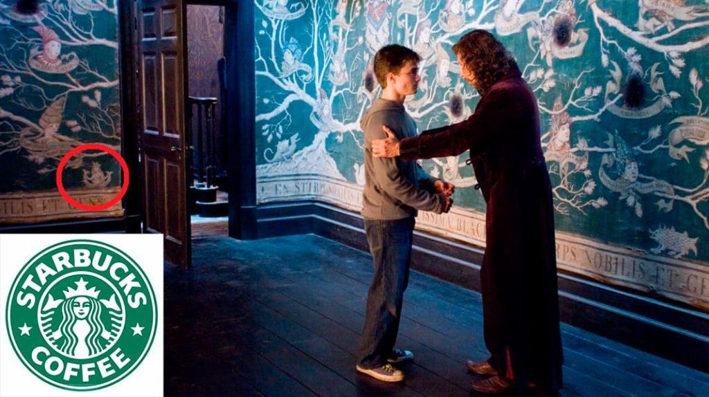 Гарри Поттер, Сириус Блек, дом Сириуса Блека, Starbucks Coffee