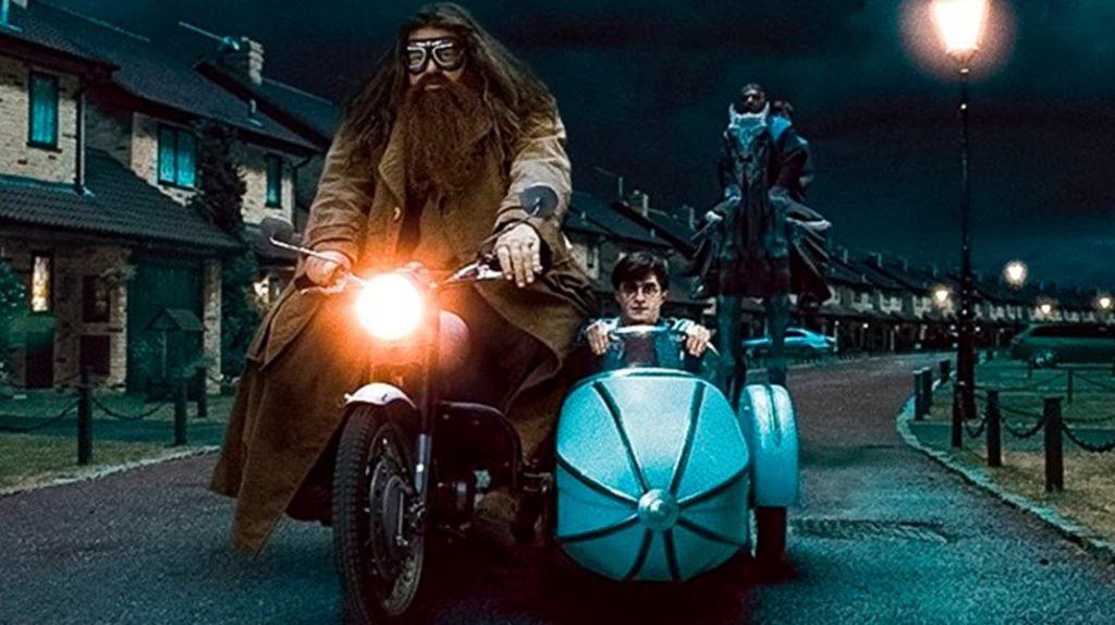 Хагрид, Гарри Поттер и Дары Смерти