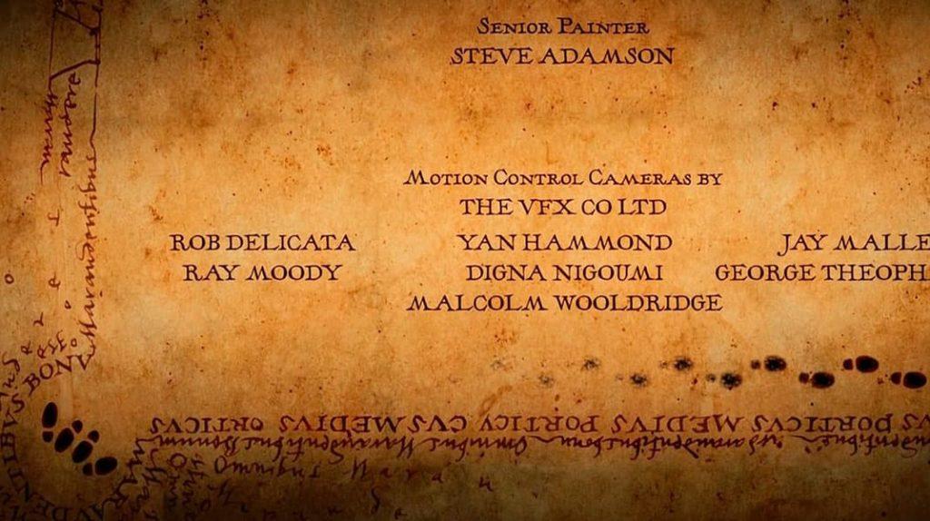 Карта Мародеров, Гарри Поттер, титры