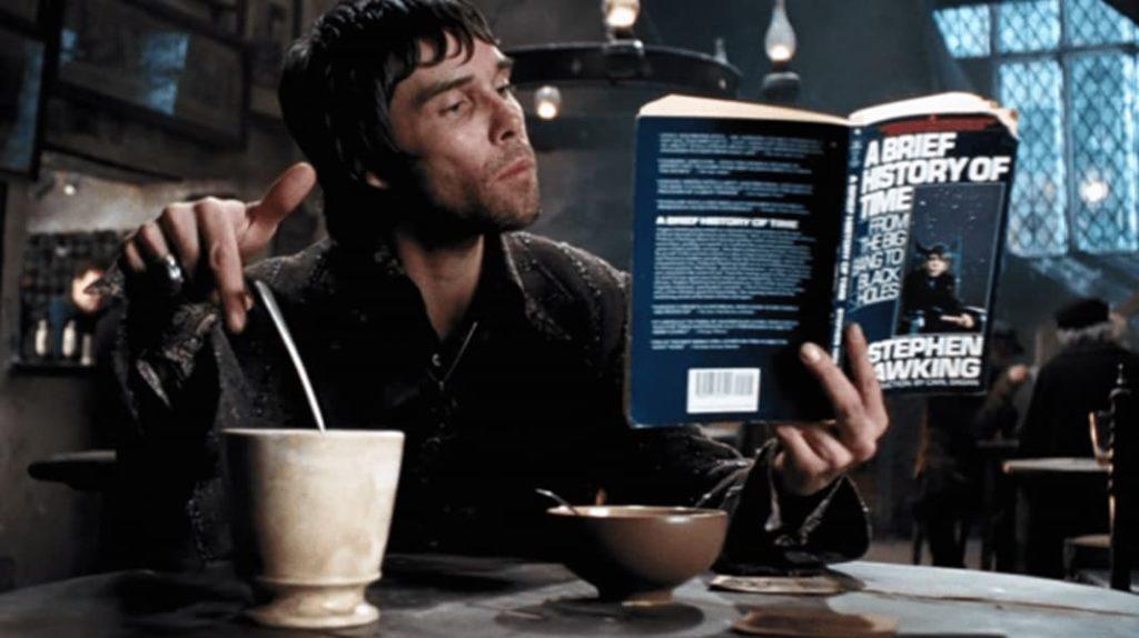 "Книга Стивена Хоккинга ""Краткая история времени"", Дырявый Котел, Ян Браун, Гарри Поттер"