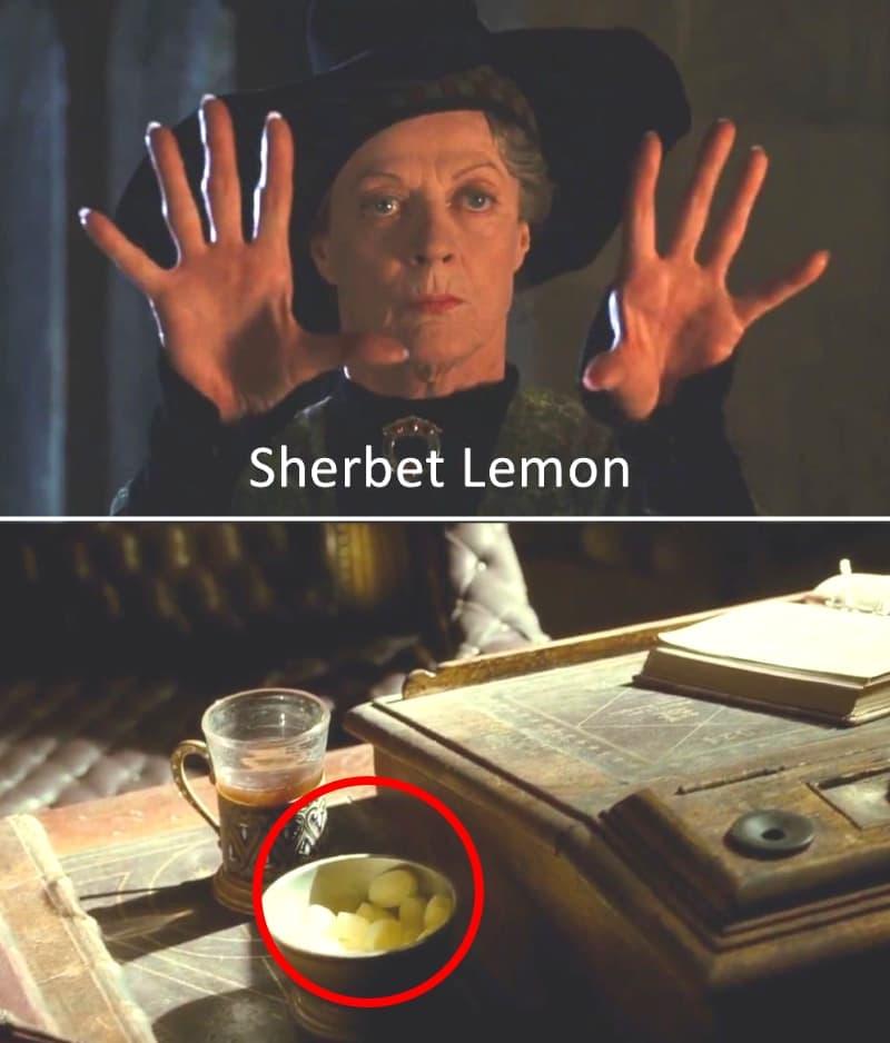 Профессор Макгонагалл, лимонный щербет