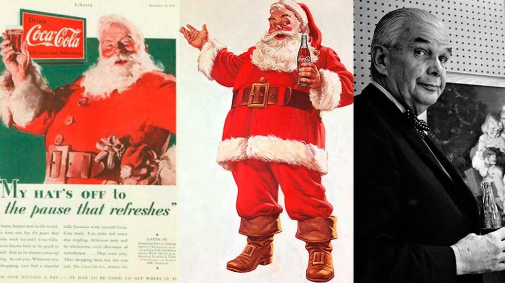 Санта Клаус, прототип Санта Клауса Хаддон Сундблом