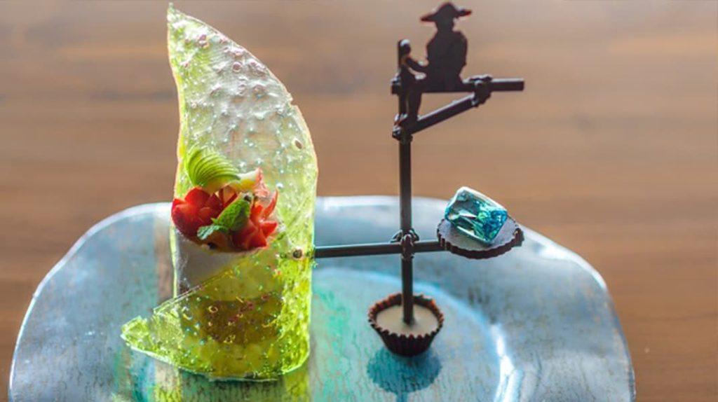 Десерт Рыбак на ходулях гурман
