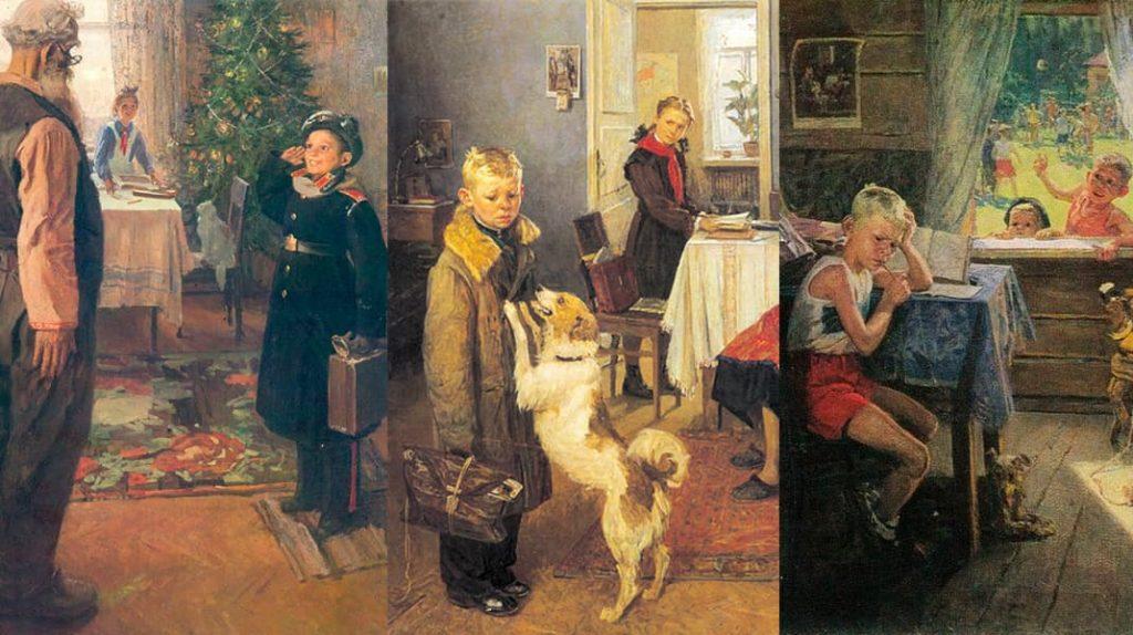 Федор Решетников Опять двойка известные картины