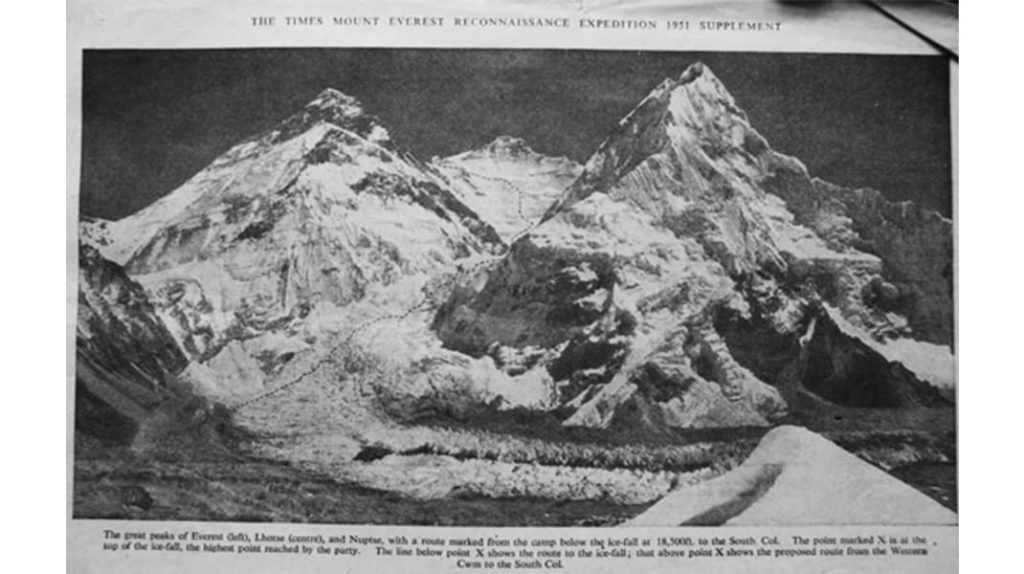 Гора Эверест История восхождения