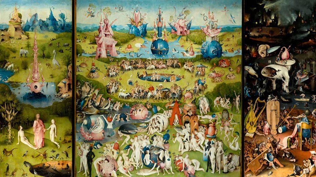 Иероним Босх Сад земных наслаждений известные картины