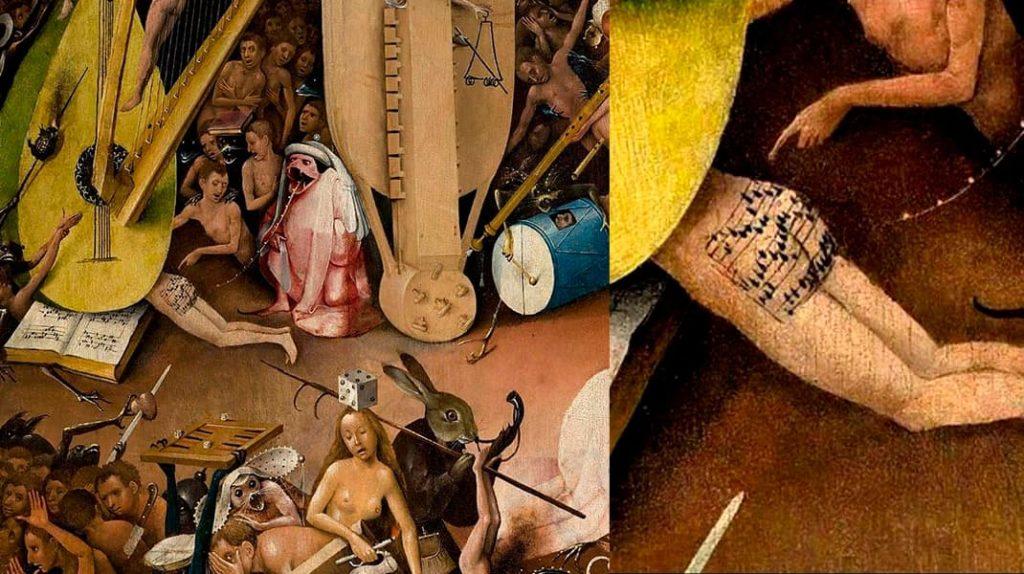 Иероним Босх Сад земных наслаждений песня с задницы из ада, которой исполнилось 500 лет
