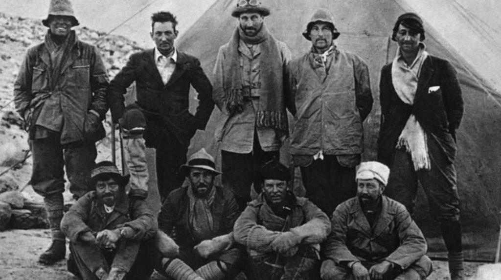 Первая экспедиция на Эверест 1921 год, Джордж Мэллори и Эндрю Ирвин
