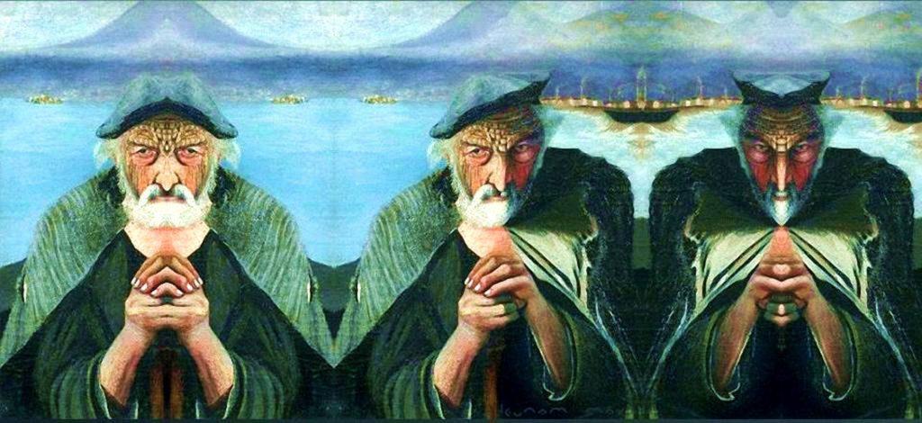 Тивадар Костка Чонтвари Старый рыбак известные картины