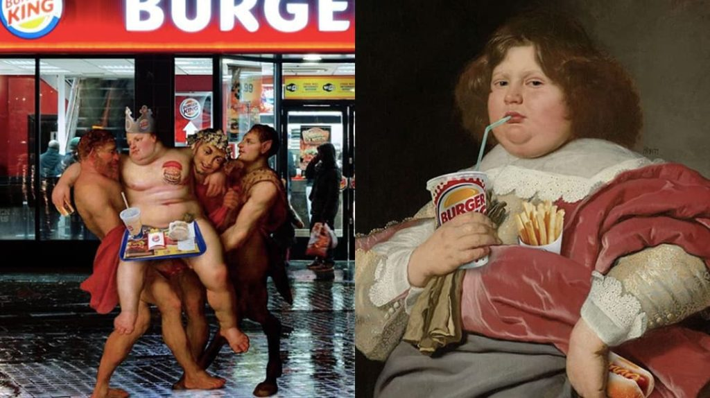 Burger King, лайфхаб