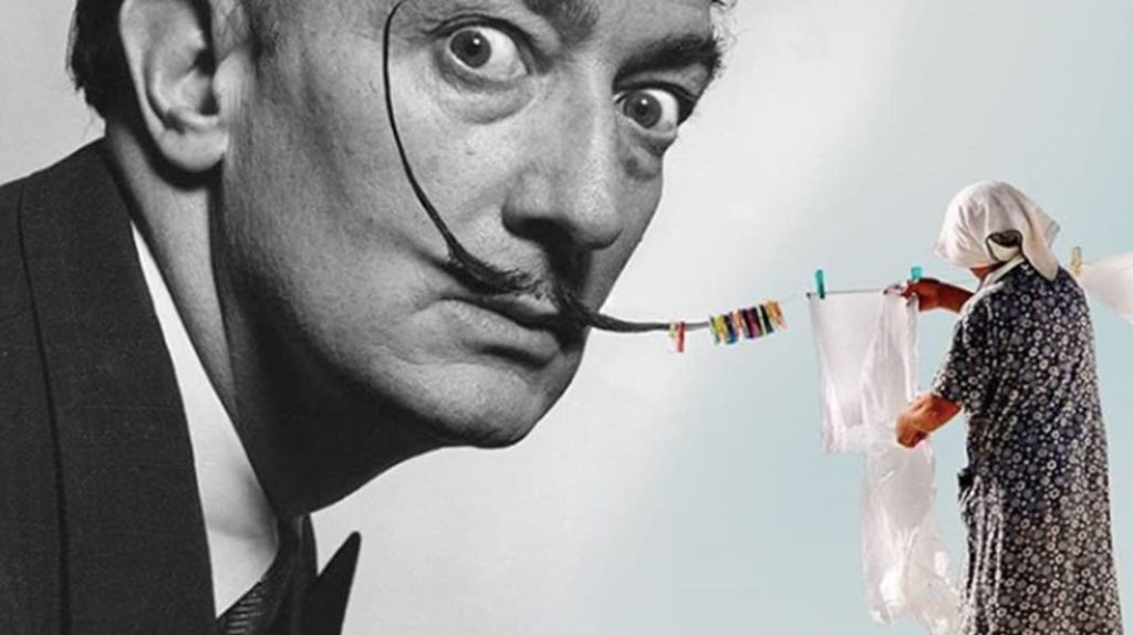 Произведения искусства глазами турецкого дизайнера Сальвадор Дали, большая стирка, лайфхаб
