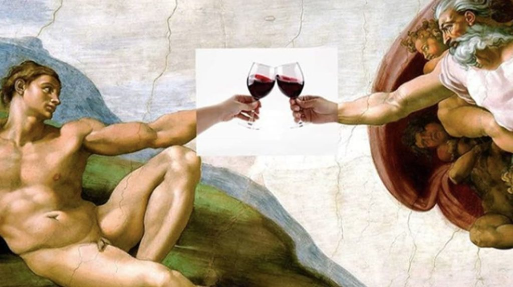 Сикстинская капелла, Микеланджело, вино