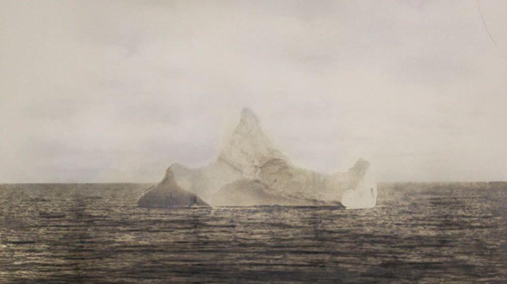 Фото айсберга, который потопил Титаник