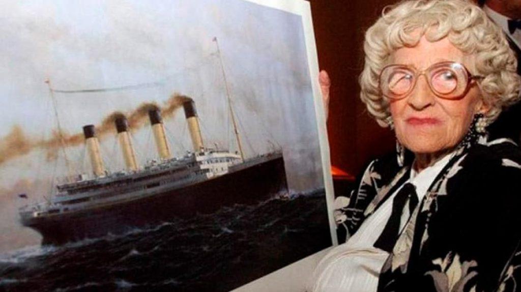 Миллвина Дин, история Титаника