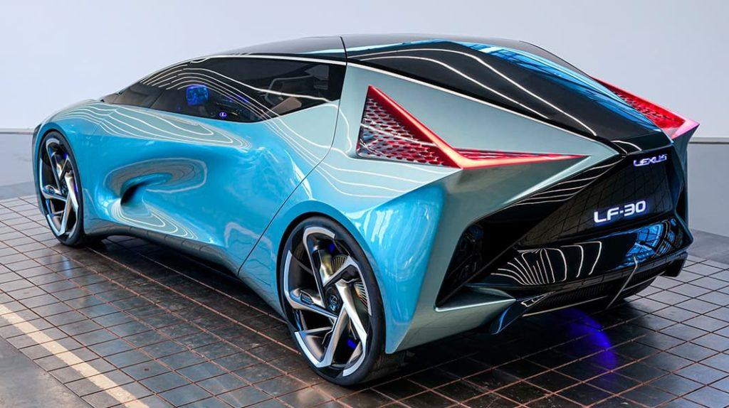 Новый электромобиль от компании Lexus LF-30 Electrified