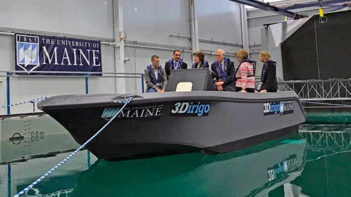 Самый большой 3D-принтер в мире напечатал лодку
