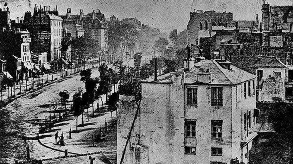 Бульвар дю Тампль в Париже, Луи Дагер