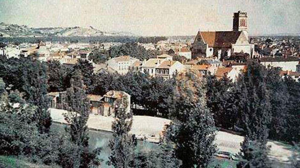 Пейзаж Южной Франции, Луи Дюко дю Орон, первая фотография в мире