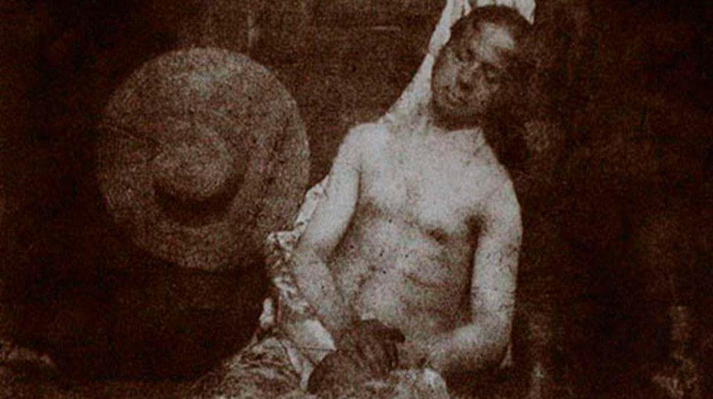 Первая фотография в мире фальсификация, Ипполит Байар «Автопортрет в виде утопленника»