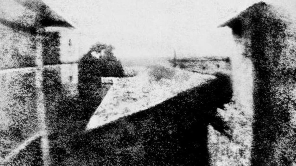Первая фотография в мире, Жозеф Нисефор Ньепс, вид из окна