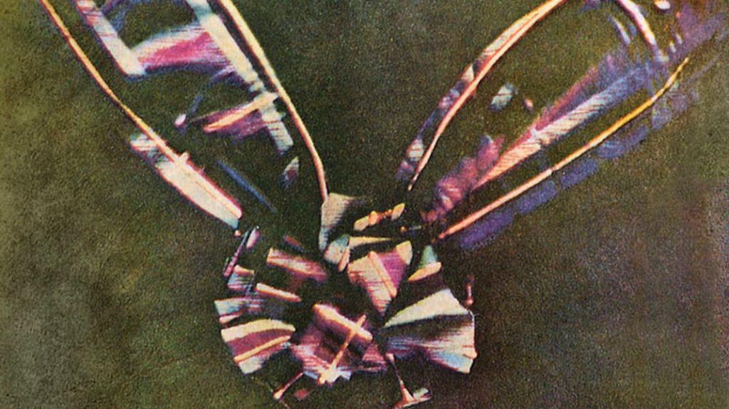 Первая в мире цветная фотография, Тартановая лента, Джеймс Клерк Максвелл