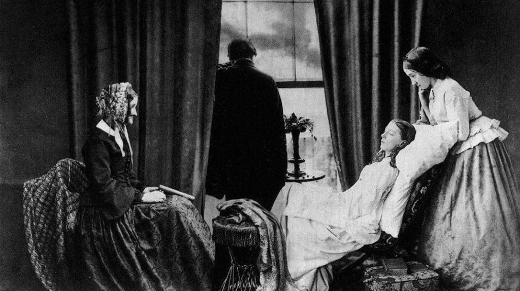Первый в мире фотомонтаж, Генри Пич Робинсон, угасание