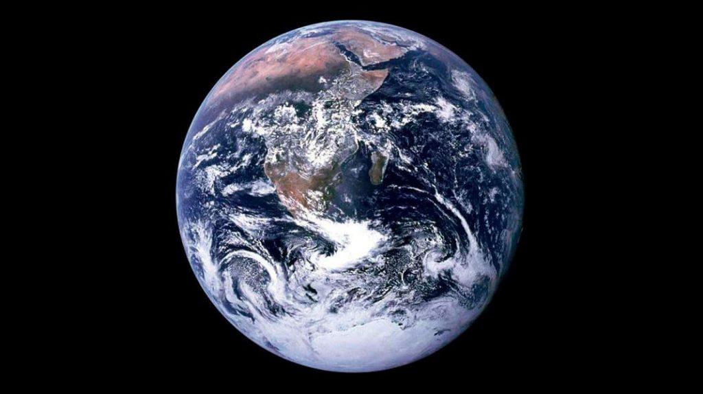 Планета Земля, фото Земли с космоса, наша планета, голубая планета