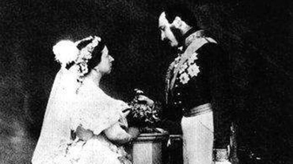 Свадьба принца Альберта и Королевы Великобритании Виктории