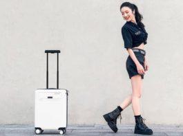 Умный чемодан от Xiaomi предупредит от кражи и зарядит гаджеты