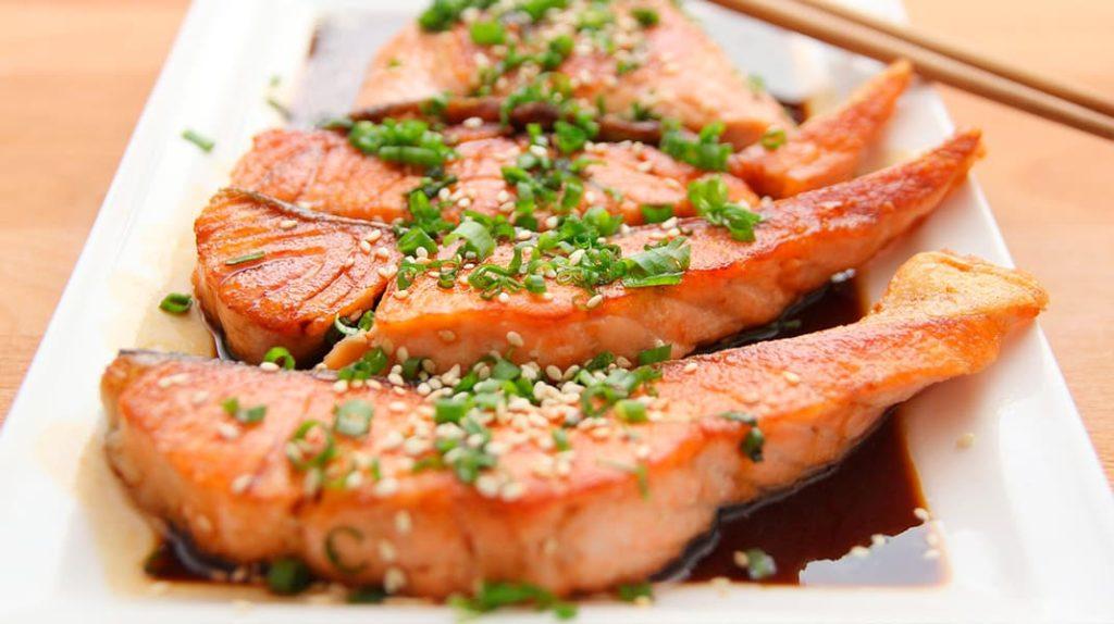 Жирные сорта рыбы, лосось, форель
