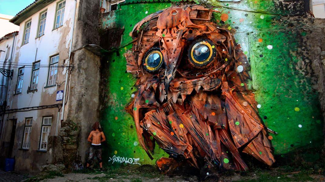 Художник создает невероятные скульптуры, чтобы предотвратить загрязнение планеты