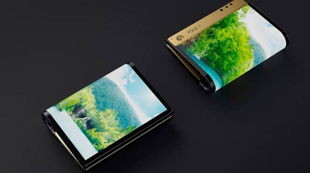 Смартфон Роберто Эскобара, Escobar Fold 1, телефон с гибким экраном