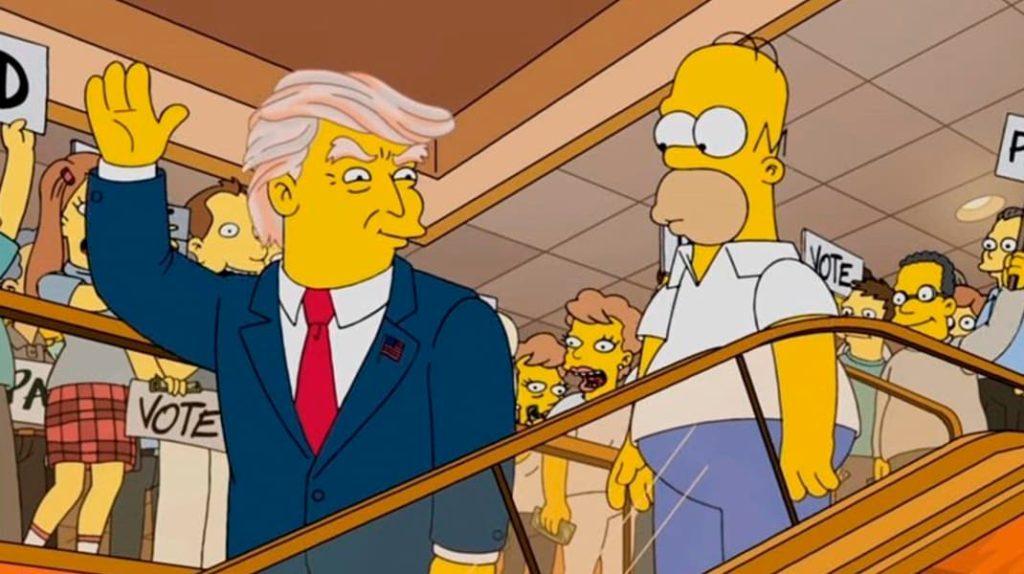 Дональд Трамп в Симпсонах
