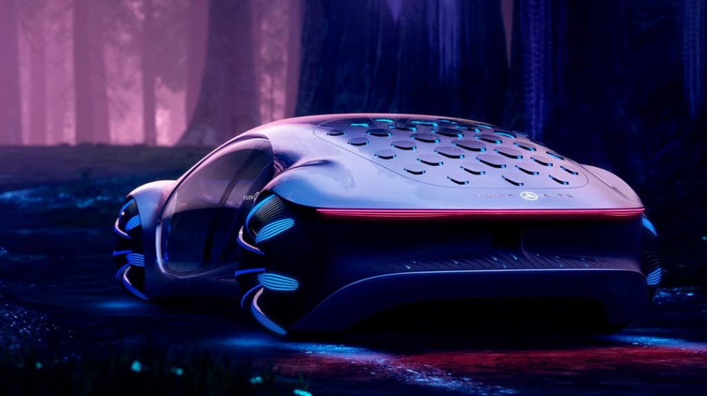 Электромобиль концепт-кар Mercedes Avatar, лайфхаб, lifehub