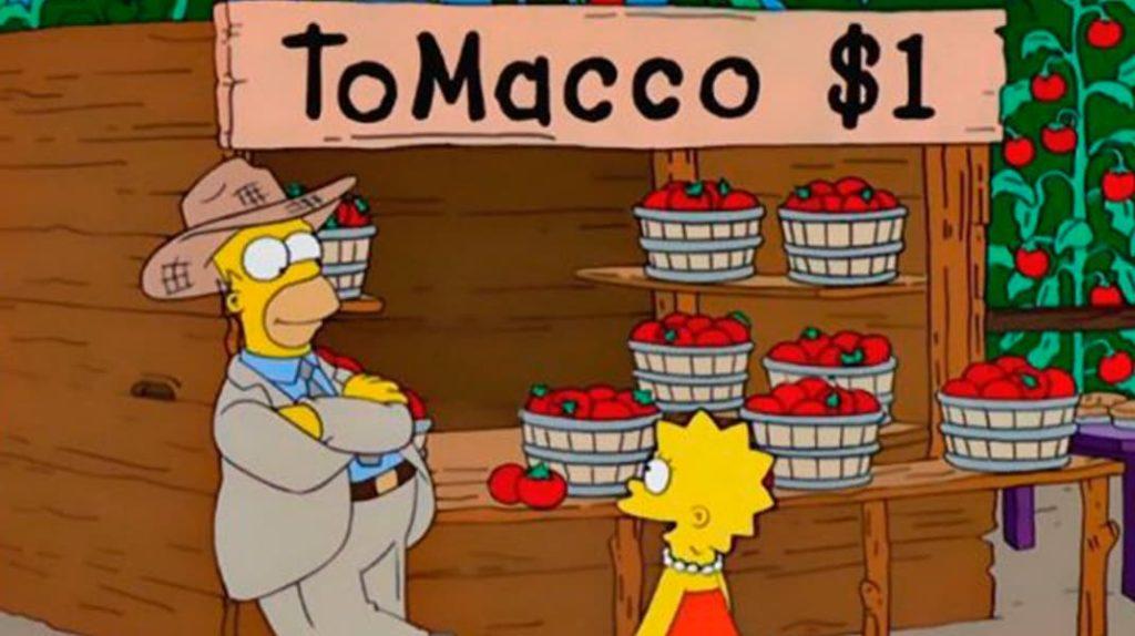 Гибрид табака и томатов, томак, Симпсоны, Гомер фермер, пророчества, лайфхаб, lifehub