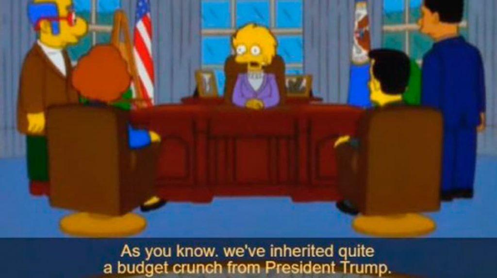 Лиза Симпсон президент Америки, Дональд Трамп, пророчества