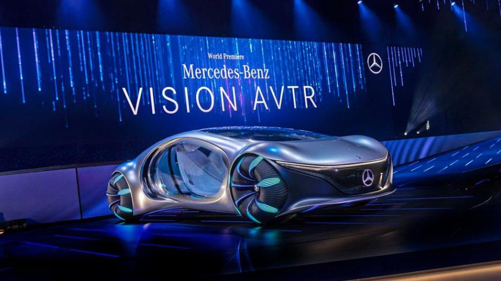 Mercedes Vision AVTR, технологии, электрокар, электромобиль, лайфхаб, lifehub
