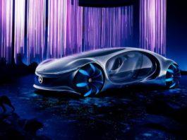 На выставке CES 2020 был представлен концепт-кар Mercedes Avatar