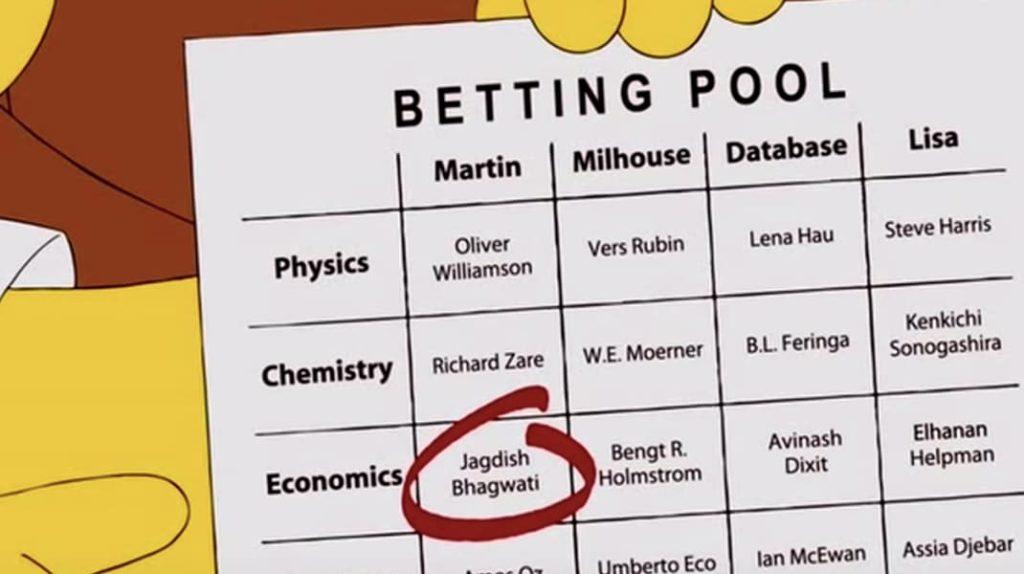 Нобелевская премия, Симпсоны, лайфхаб, lifehub