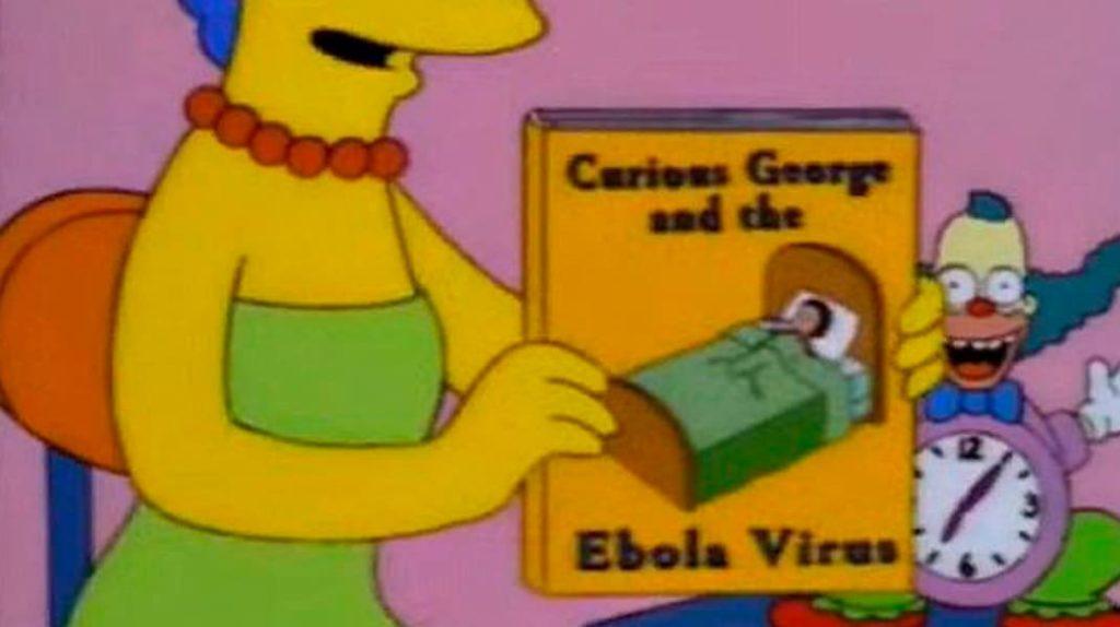 Вирус Эбола, лихорадка Эбола, Симпсоны, лайфхаб, lifehub